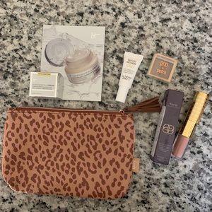 Ipsy Leopard bag Makeup Bundle